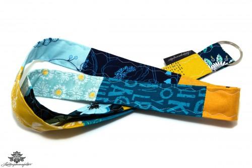 Lanyard gelb dunkelblau