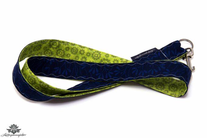 Lanyard grün marine Karabiner