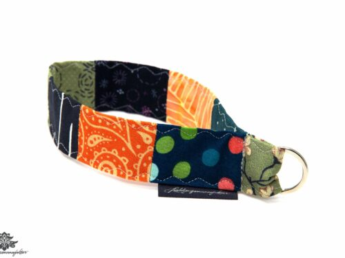 Lanyard kurz grün orange blau