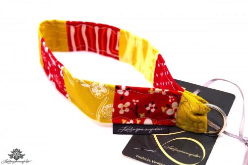 Lanyard kurz rot gelb
