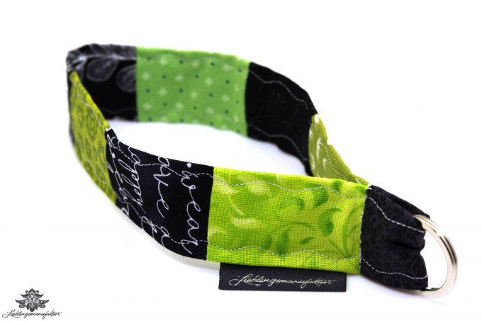 Lanyard kurz schwarz grün