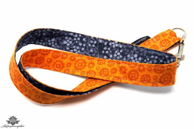 Lanyard orange anthrazit