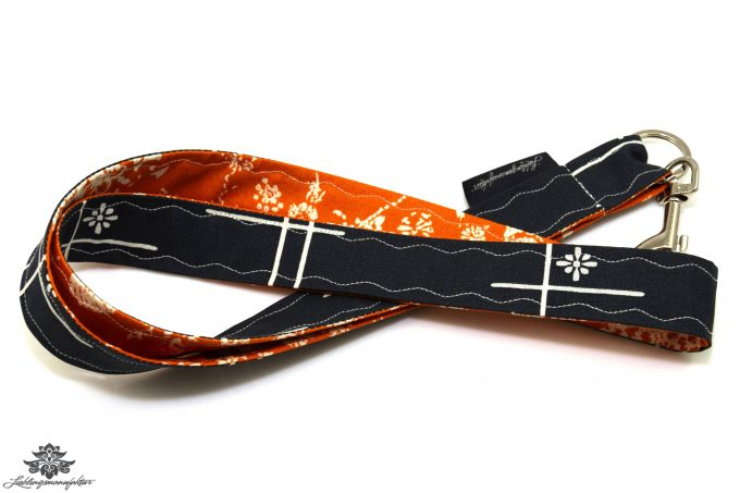 Lanyard orange anthrazit