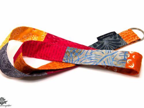 Lanyard orange grau