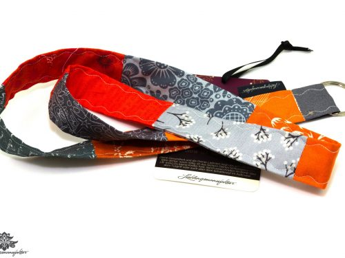 Lanyard orange grau