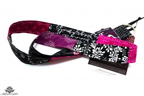 Lanyard schwarz pink