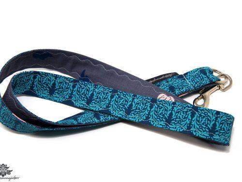 Schlüsselband Karabiner blau