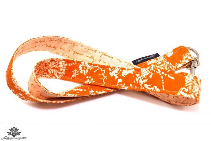 Schlüsselband Lanyard apricot orange