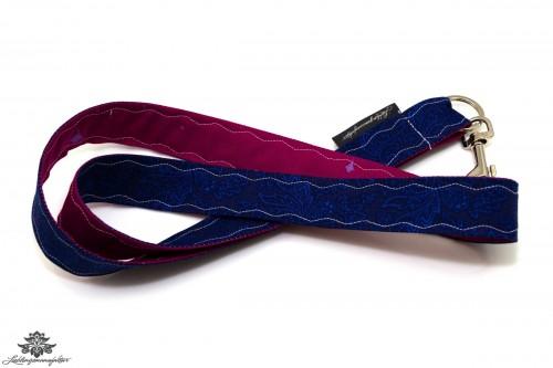 Schlüsselband blau pink Karabiner