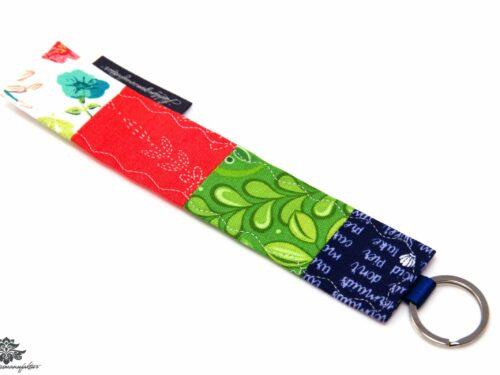 Schlüsselanhänger rot grün