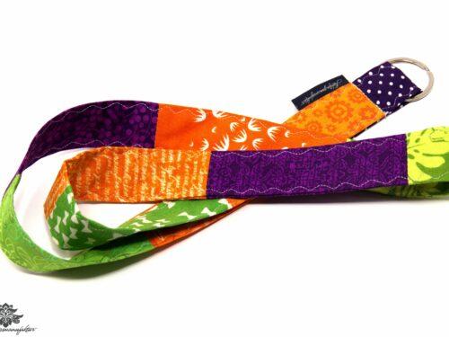 Schlüsselband lila orange