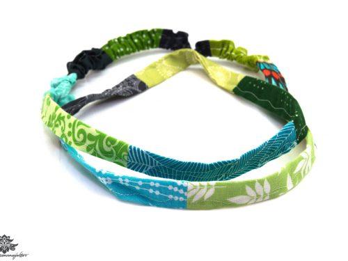 Bandana blau grün