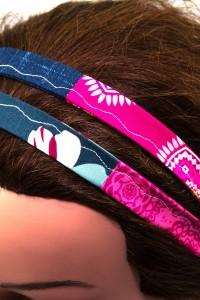 Bandana blau pink