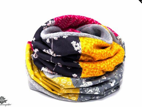 Fleece Schal lang