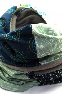 Loop Winter blau mint