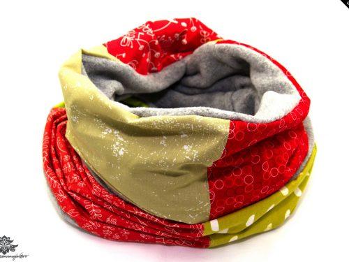 Schal Damen rot