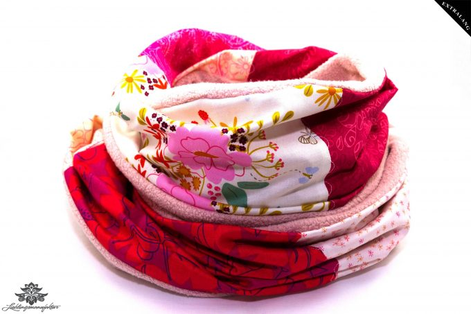 Schal Winter Damen pink rosa