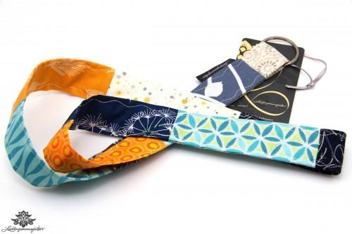 Schluessel wiederfinden schluesselband Farbe dunkelblau tuerkis blau