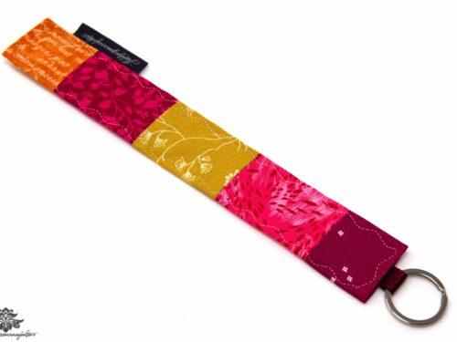 Schlüsselanhänger pink orange