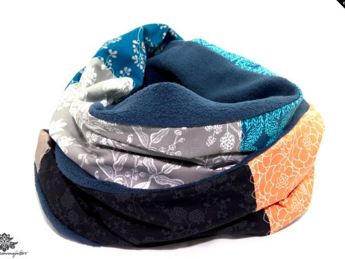 langer Fleece-Schal
