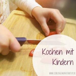 Stressfrei kochen mit Kindern
