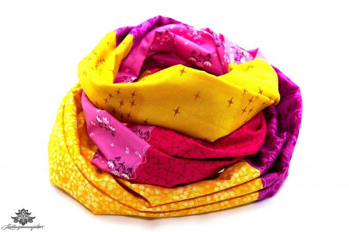 Loop gelb pink