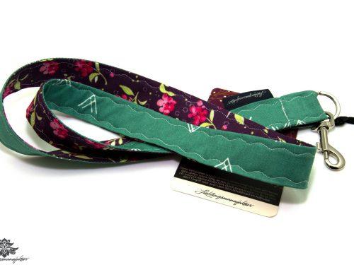 Schlüsselanhänger Band Schlüsselband violett