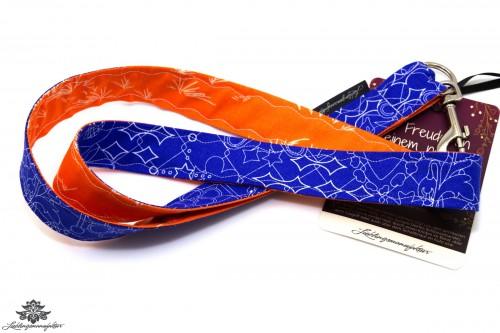 Schlüsselbund orange blau