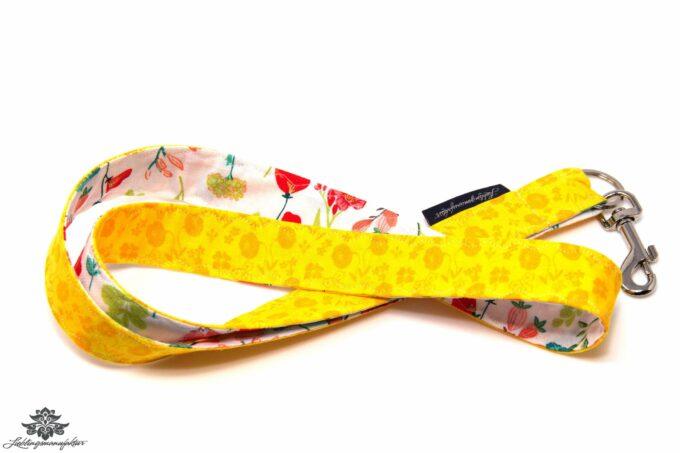 Schlüsselbund gelb Blumen
