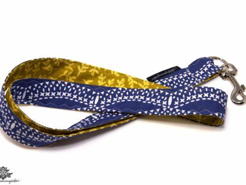 Schlüsselbund gelb dunkelblau