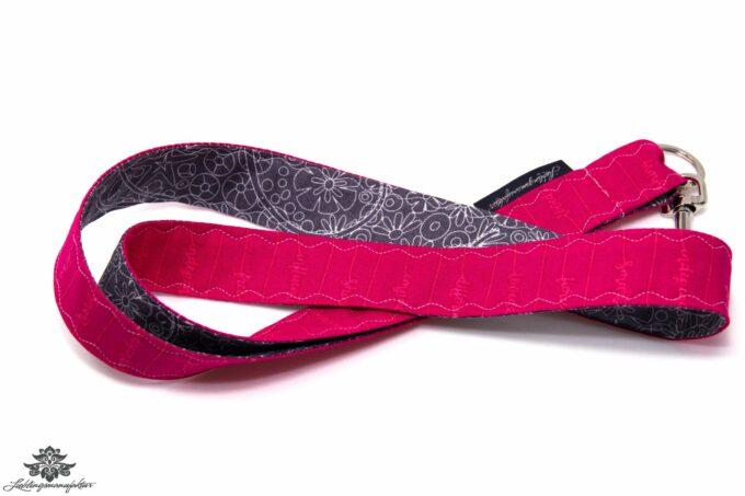 Schlüsselbund pink dunkelgrau