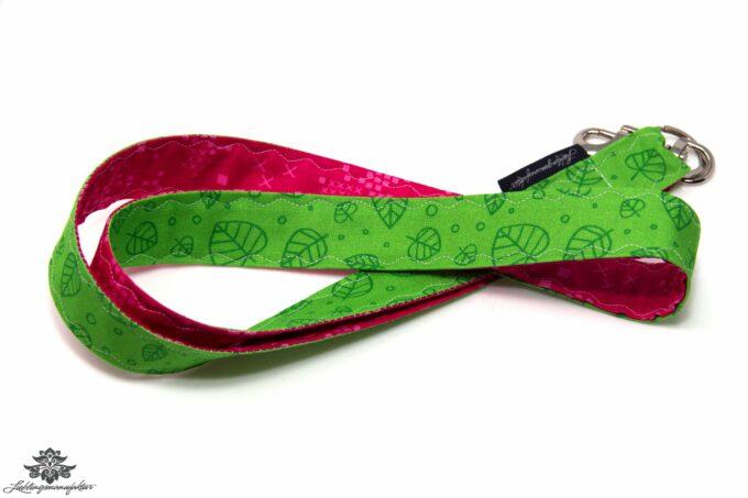 Schlüsselbund pink grün