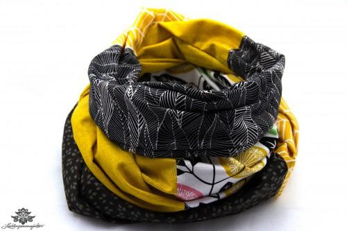 Tuch gelb schwarz