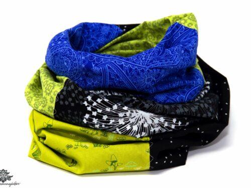 Blaues Tuch reine Baumwolle