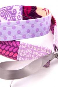 Gürtel lila Schleife