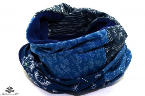 Loop dunkelblau Winter
