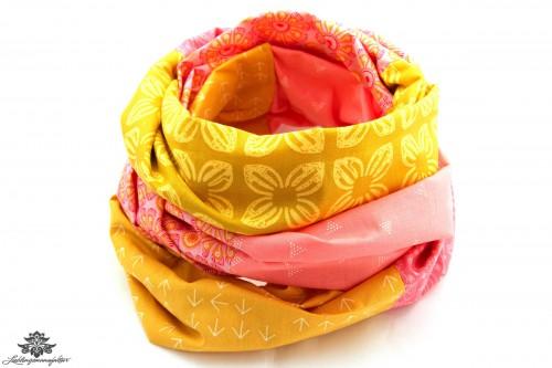 Loop gelb rosa
