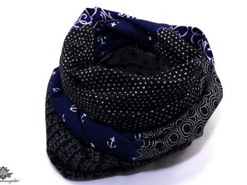 Loops blau schwarz