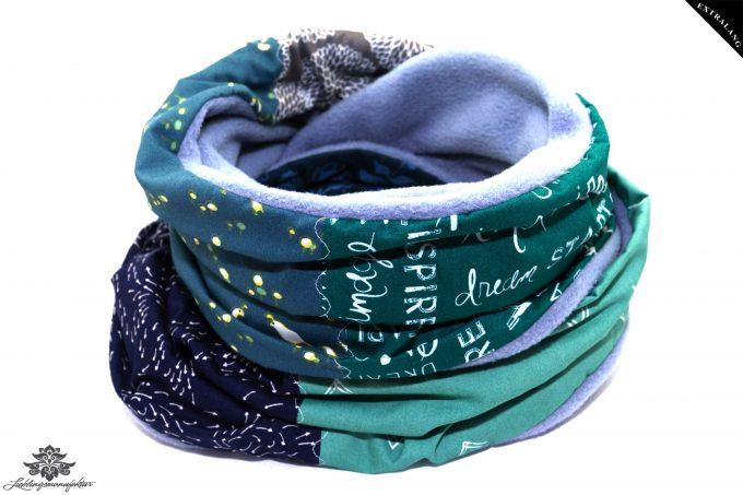 Schal grün lang
