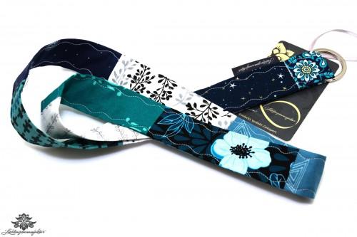 Schlüsselanhänger Band blau