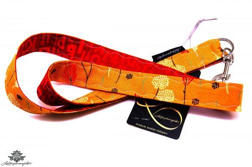 Schlüsselband Karabiner orange