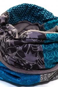 Winter Schal bunt