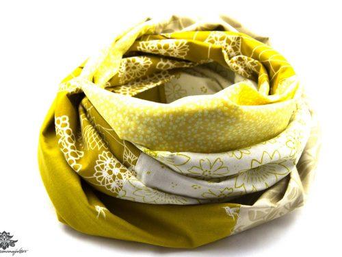 Gelbes Tuch