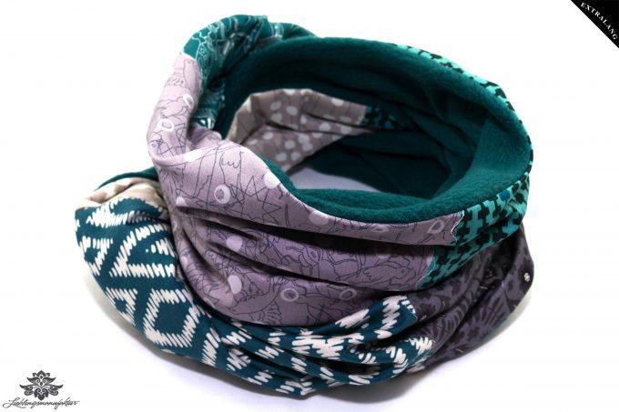 Langer Schal bunt