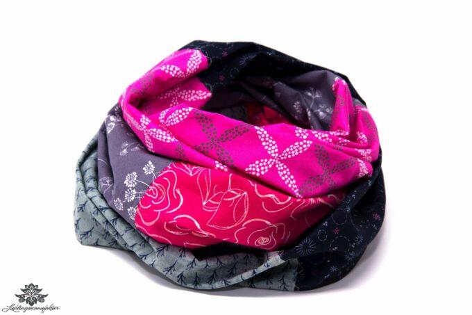 Loop pink grau