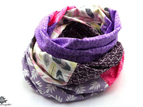 Tuch violett lila flieder