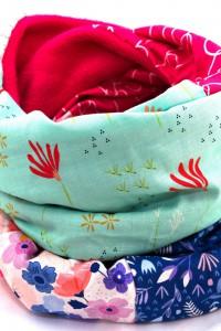 Schal Blumenmuster