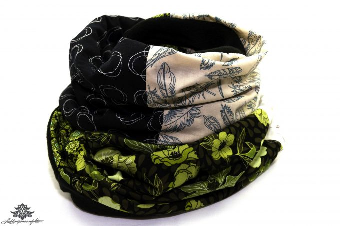 Schal gemustert Winter