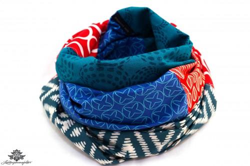 Tuch Baumwolle blau