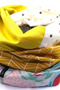Tuch Baumwolle pastell
